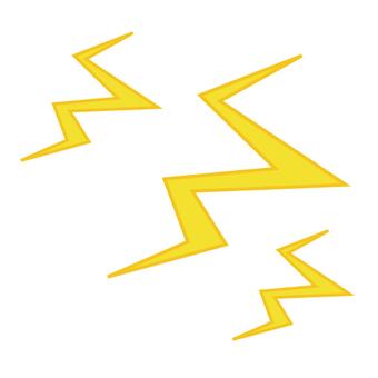 Weather mark (thunder)