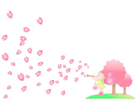 Cherry tree. 2