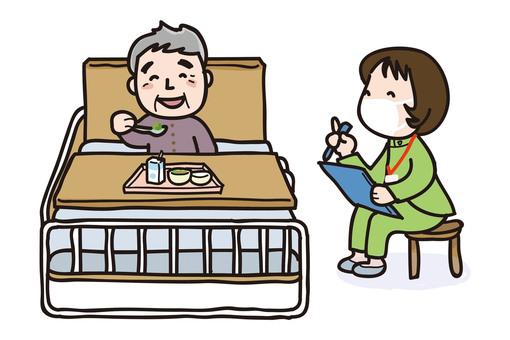 患者和營養師