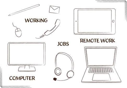 PC Telework Telecommuting Freelance