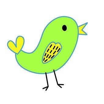Green bird 6