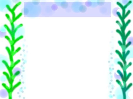 水下泡沫框架