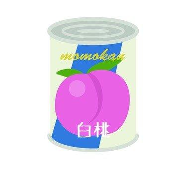 Canned peach