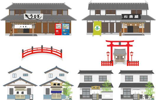Store set 1 Japanese style