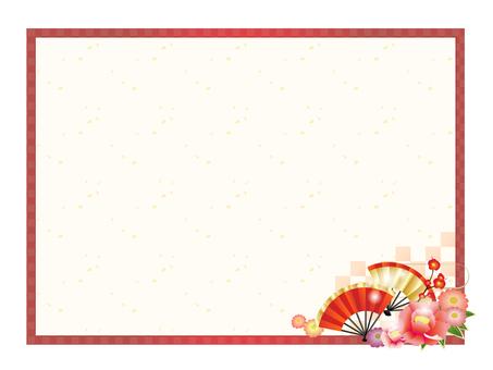 Japanese style decorative frame 5