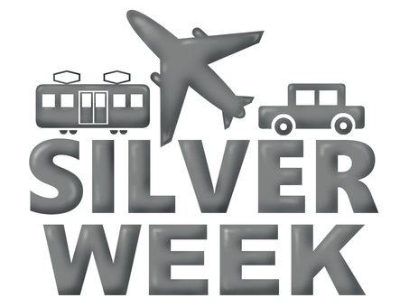 Silver week ad illustration