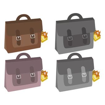 학생 가방 (경로 케이스 포함) 바구니 세트