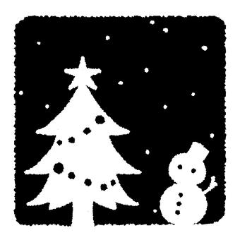 Christmas 01 (black & white)