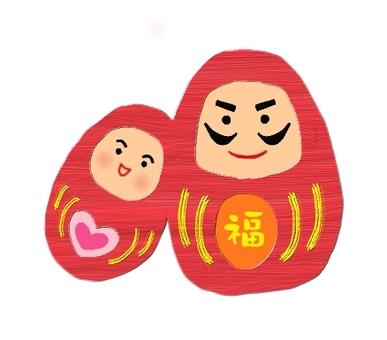 Darumama couple