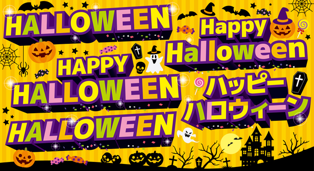 3D characters_Halloween set