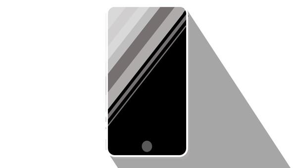 Illustration of a simple smartphone v2