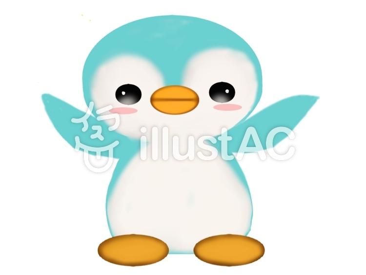 ペンギン①のイラスト