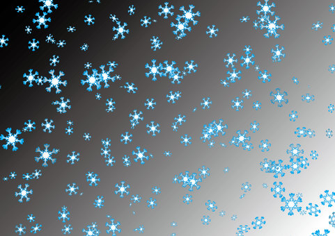 A snowflake crystal scatters 1