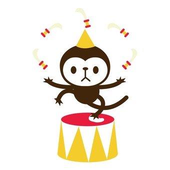 Monkey Juggling Dagger