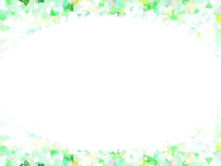 Round frame 3 (green)