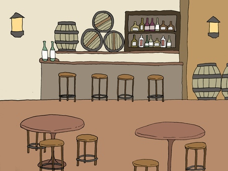 Background of the bar