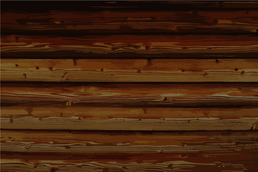 Wood grain texture background - dark brown