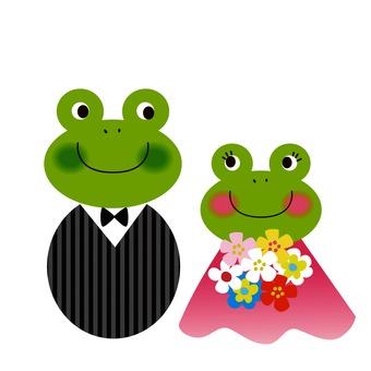 カエルの結婚式