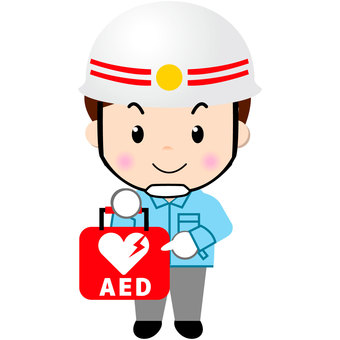 구조 대원 (AED)