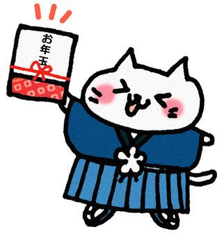 Oshamaball cat