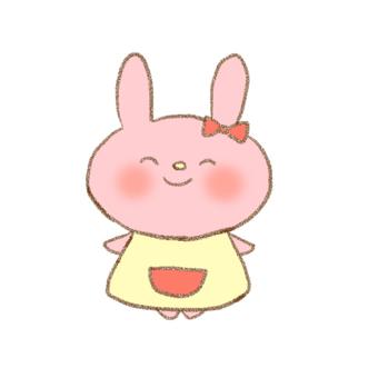 兔子手寫的插圖