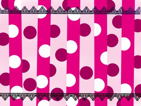 Psychedelic polka dots