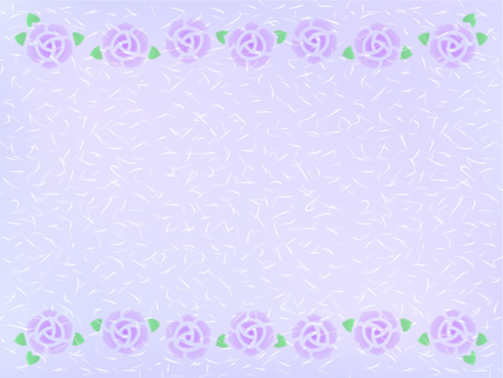 장미 프레임 (라벤더 종이 질감)