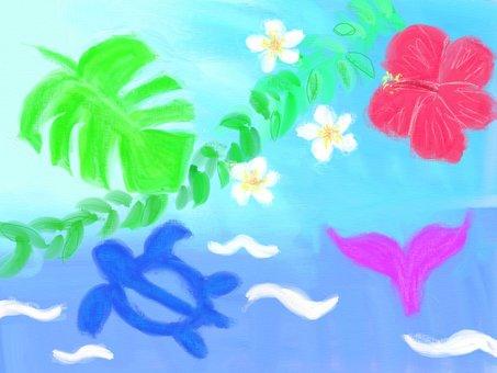 ハワイアンのイメージ