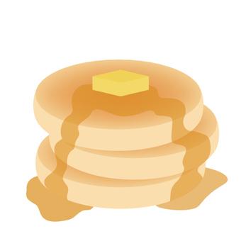 Butter lean pancake