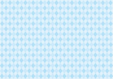 Wallpaper - Argyle - Blue