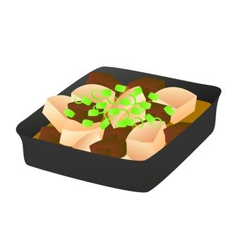 Simmered dish