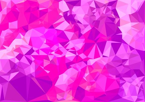 ピンクのデジタルポリゴンベクター背景素材