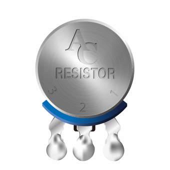 電子元件可變電阻器01b板部件