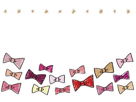 Ribbon message card