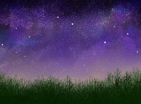 Starry background 06 (grassland)