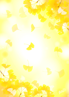 Gingko background 4 Fresh
