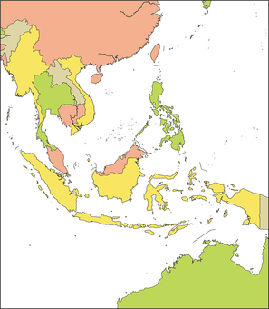 Southeast Asia Region-By Country