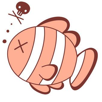 Clownfish who got sick