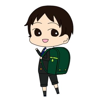 Elementary school boy _ 01