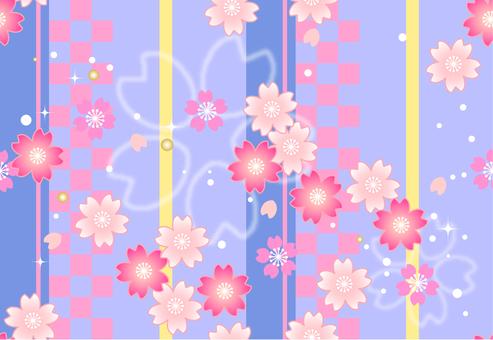 Sakura endless pattern background