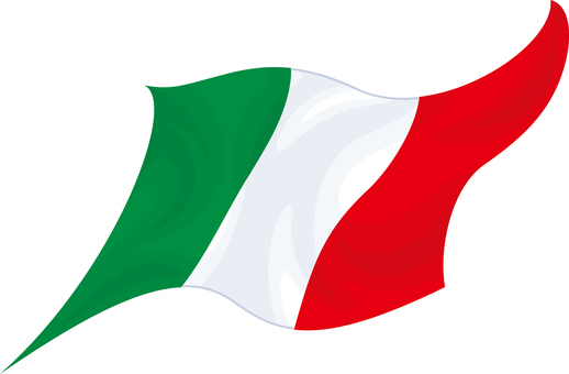 Flag Italy Tricholore