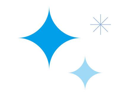 Sparkling (blue)