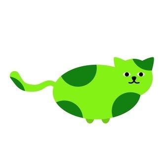 녹색 고양이