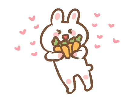 A very happy rabbit 2