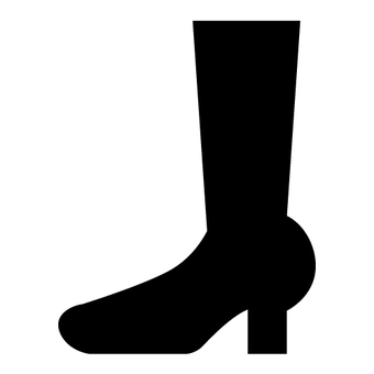 Boots silhouette