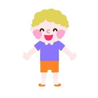 Blonde Perm's Boy