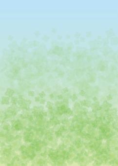 Mint, Background, A4 Portrait, with paint