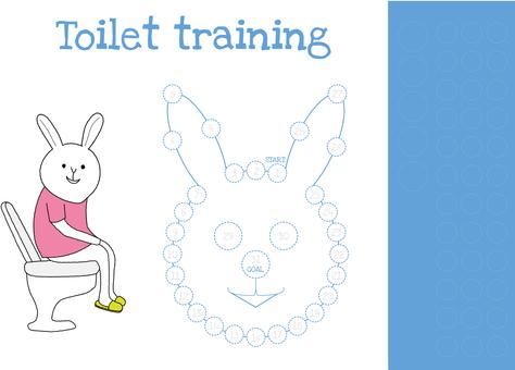 Toilet training table