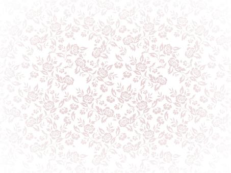 Rose pattern background on white background 3