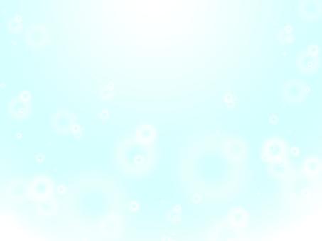 Shining light · light blue